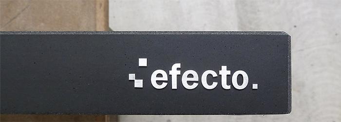 efecto Logo auf Beton