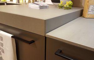 Arbeitsplatte Küche Beton dick Beton dünn