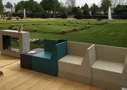 Gartenmöbel weicher Schaum wetterfest