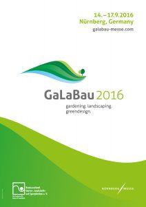 GaLaBau 2016 Plakat
