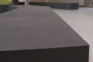 Betonelement Oberfläche einer Ecke