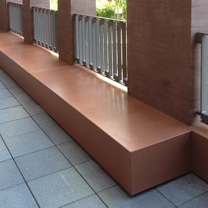 Brüstung Balkon aus BEton