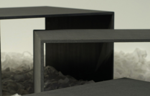 Detail Beistelltisch Set Beton
