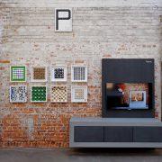 TV Möbel mit Aufbewahrung aus Beton