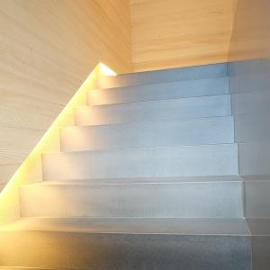 Stufen aus Beton Treppenwange aus Beton
