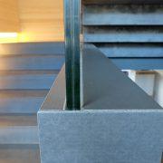 Treppe Wange aus Beton