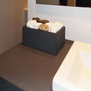 Betonbox für Handtücher