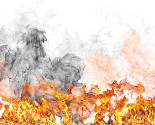 Flammen Brandschutzklasse A1