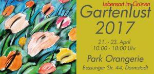 Flyer Garten Ausstellung Gartenlust 2017
