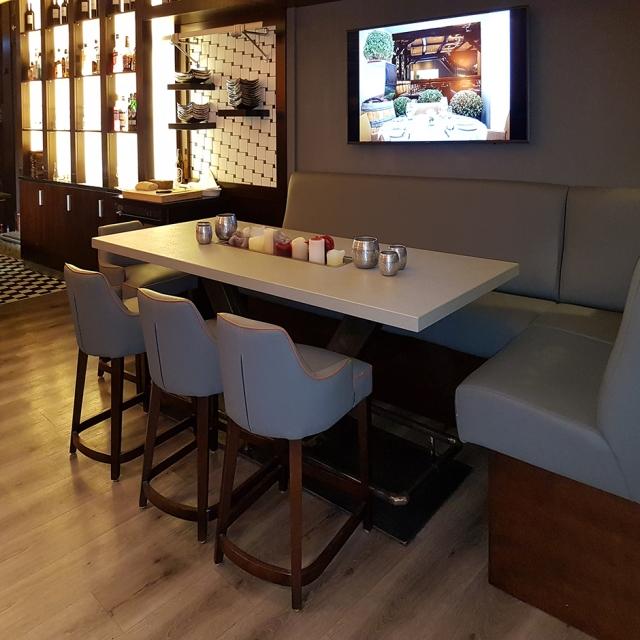 unser tisch im schr ter 39 s leib und seele efecto die betonschreiner. Black Bedroom Furniture Sets. Home Design Ideas