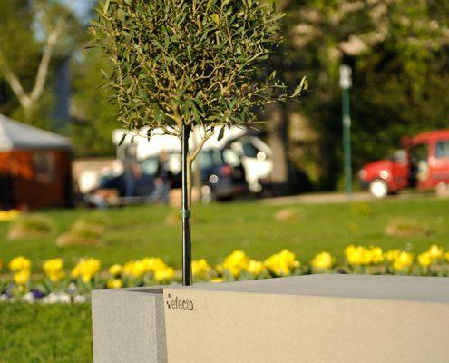 efecto Betonbank auf der Gartenlust Darmstadt