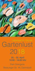 Flyer Gartenausstellung - Gartenlust 2018