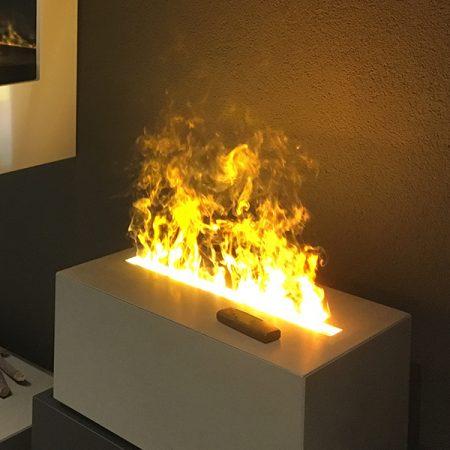 Effekt Feuer in Betonblock