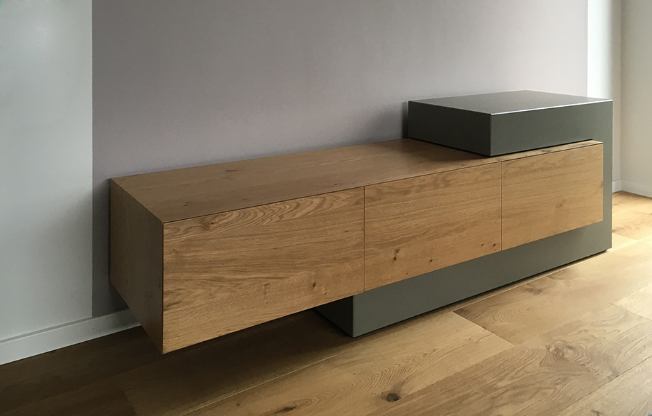 efecto sideboard konrad holz beton br 1 efecto die betonschreiner. Black Bedroom Furniture Sets. Home Design Ideas