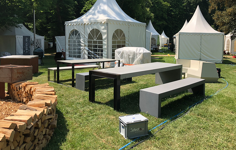 efecto gartenschau hanau 2018 efecto die betonschreiner. Black Bedroom Furniture Sets. Home Design Ideas