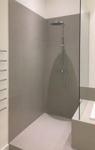 Dusche Wandverkleidung aus Beton