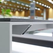 Betonplatten mit Glasfaser für Möbel- und Innenausbau