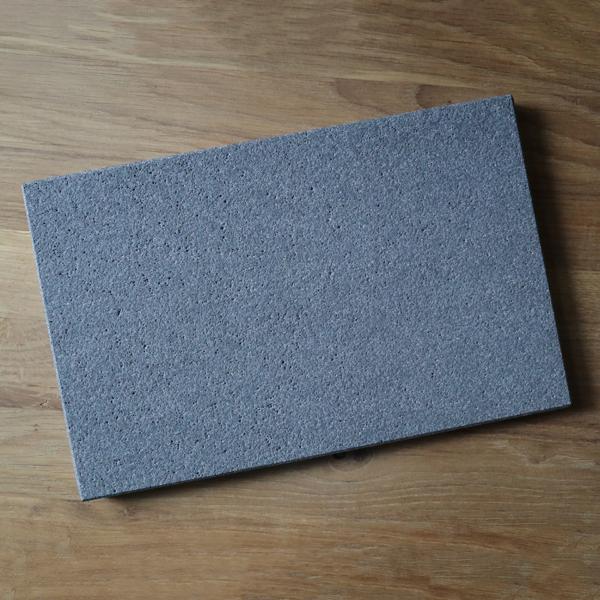 efecto Beton-Testplatte mit Beschichtung